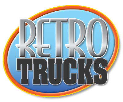 Retro Trucks Window Cling Decals